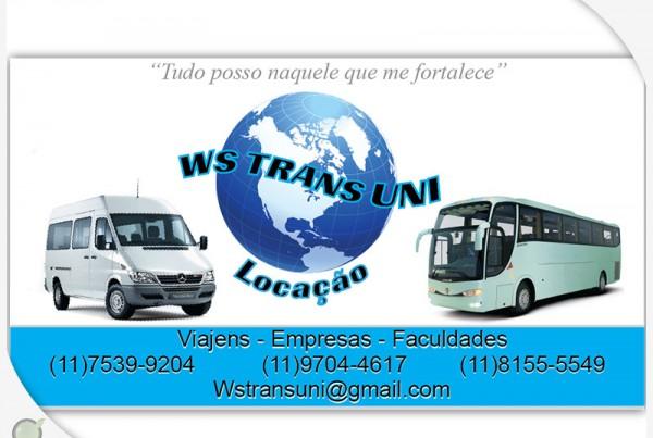 Cartão de visitas Ws Trans Uni