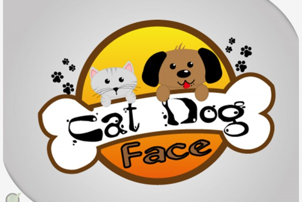 Logo – Cat Dog Face
