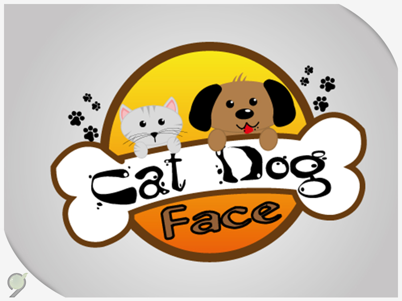 Logo – Cat Dog Face