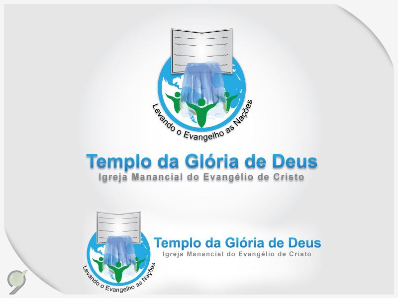 Logo Templo da Glória de Deus