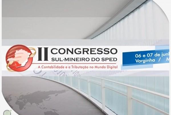 II Congresso Sul Mineiro do SPED – Vídeo