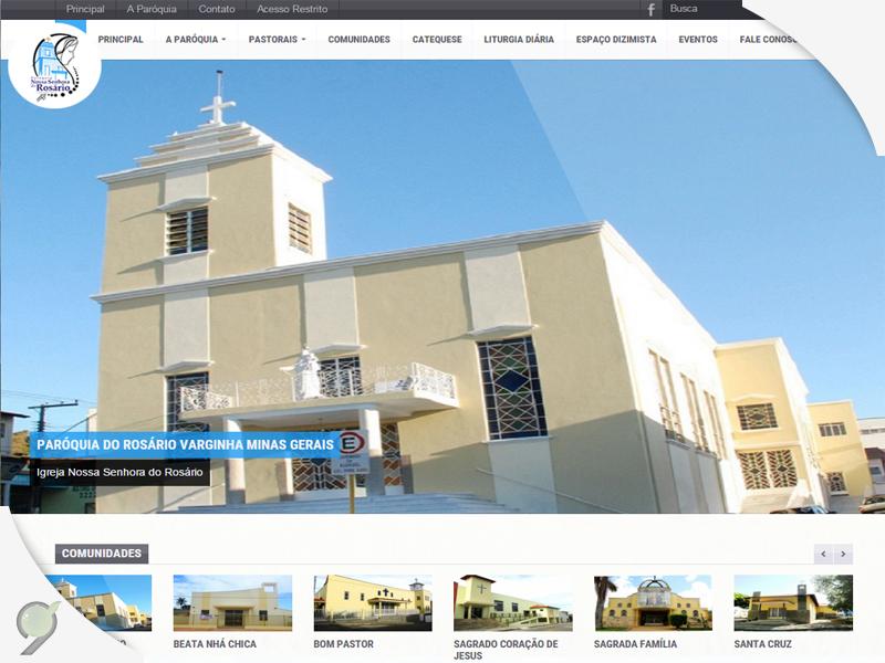 Paroquia Do Rosario – Criação de site