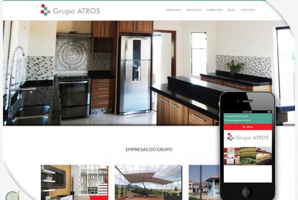 Criação de Site – Grupo Atros
