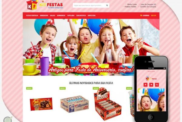 Loja Virtual – Kit Festas