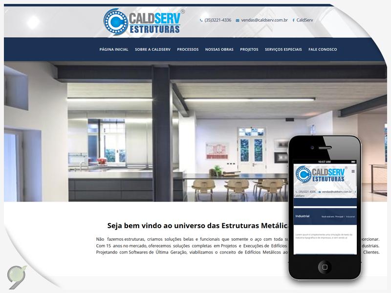 Criação de Site – Caldserv