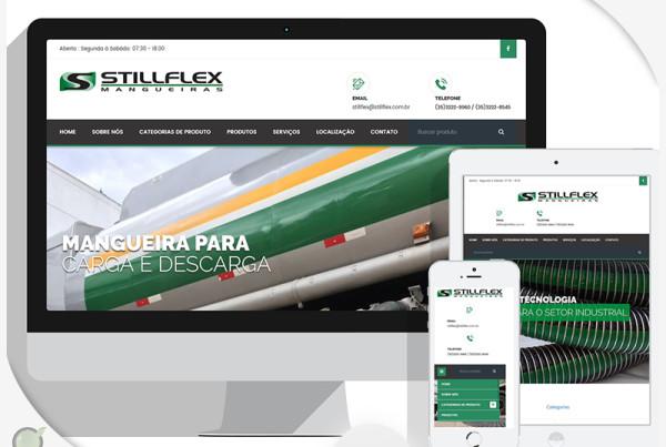 Criação de site para StillFlex