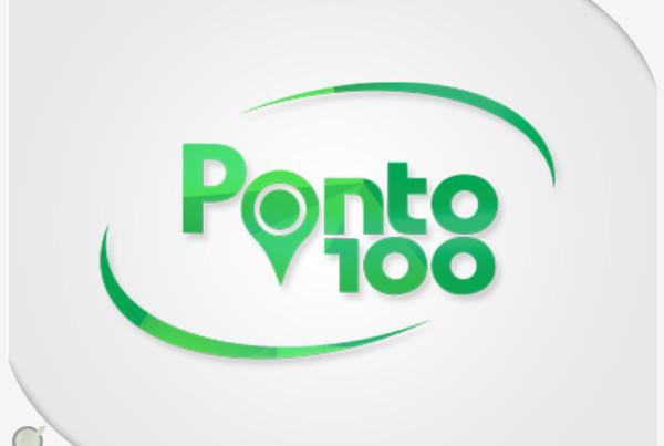 Logo Ponto100 Atacadista | Nepomuceno