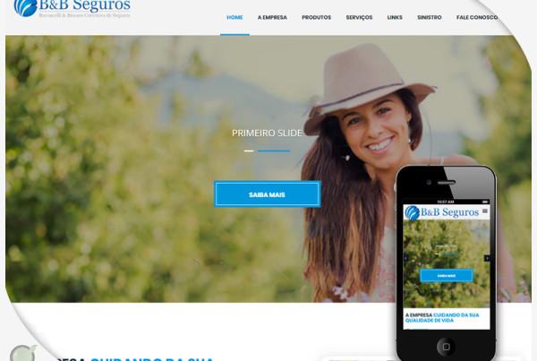 Criação de site para BeB Corretora - Varginha